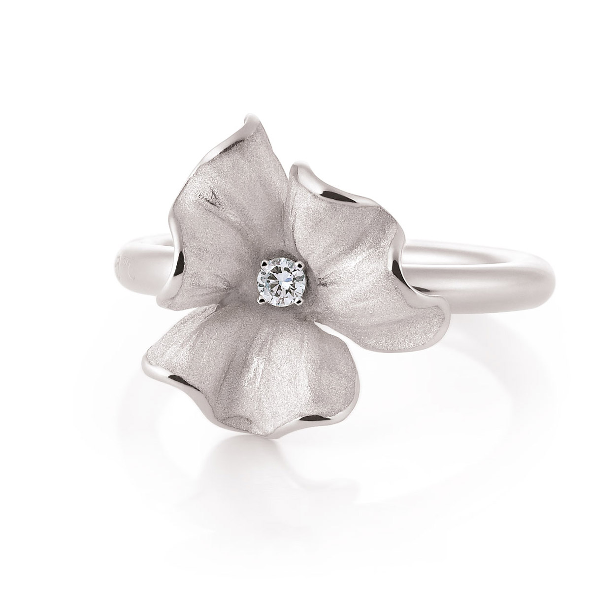 Annamaria Camilli Flower ring en oorbellen